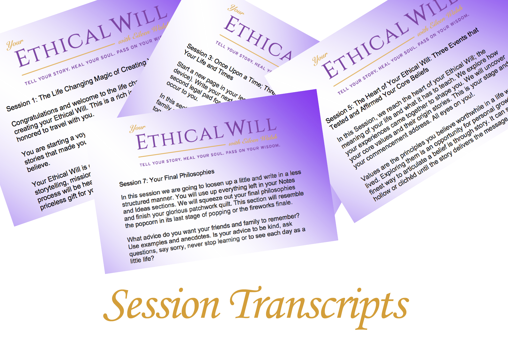Transcripts for Each Session